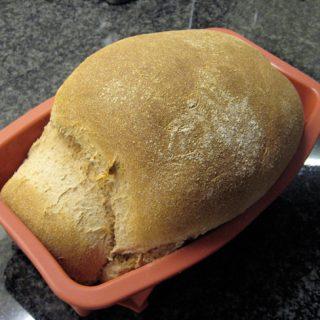 Pão 100% integral – Agora feito a mão