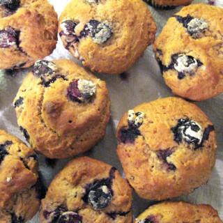 Muffin de blueberry (mirtilo)