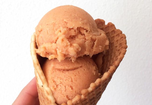 sorvete de frutas