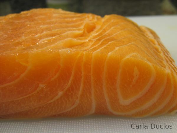 Posta de salmão