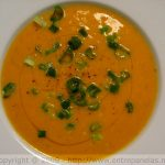 Sopa de lentilhas amarelas