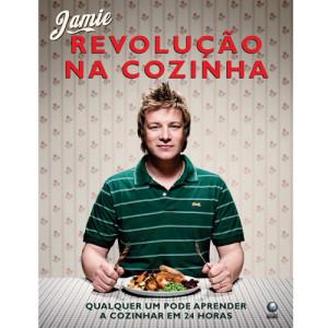 Excelente livro de culinária do Jamie Oliver: Revolução na Cozinha. Cheio de receitas práticas, simples de preparar e deliciosas!