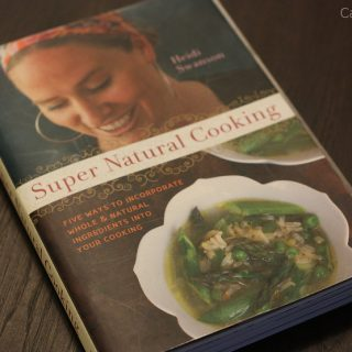 Livro de receitas: Super Natural Cooking