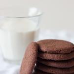Biscoito de chocolate simples, fácil e rápido